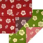 京の両面おもてなし小風呂敷 薔薇(バラ)中巾(50cm幅) エコバッグ 母の日 父の日 プレゼント 手拭い