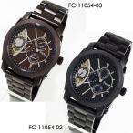 フィッチェficce ツインムーブ腕時計 クォーツ&自動巻き 全2色 FC-11054