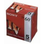 SONY 5DVM60R3 ミニDVカセット 60分 ICメモリーなし 5本組