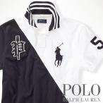ポロラルフローレン : Custom-Fit Color-Blocked Polo [カスタムフィット/ビッグポニー/半袖ポロシャツ]