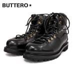 BUTTERO ブッテロサイドジップワークブーツ CANALONE(B4950) ブラック/DIV1.NERO SIDE ZIP トレッキングブーツ
