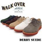 【WALK-OVER ウォークオーバー】スエード プレーントゥシューズ 【DERBY SUEDE】 カジュアル 本革 スエードレザー
