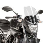 ショッピングGENERATION Puig 8932W NEW GENERATION LONG (CLEAR) YAMAHA MT-25 (16-17) プーチ スクリーン カウル