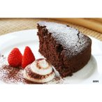 l送料無料lORGRAN グルテンフリー チョコレートケーキミックス 375g×8セット 393108 代引き・同梱不可