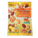 l送料無料l福楽得 美実PLUS ハニーミックスナッツ バター風味 35g×20袋 代引き・同梱不可