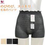 毛糸のパンツ ワコール のびのび、スッキリ毛糸のパンツ PPL100 サイズM L 毛パン 薄手 日本製 レディース メ3迄