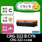 CRG-322II CYN (CRG322II シアン) リサイクルトナー カートリッジ LBP9100C/ LBP9200C/ LBP9500C/ LBP9510C/ LBP9600C/ LBP9650Ci キャノン対応 青