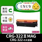 CRG-322II MAG (CRG322II マゼンタ) CANON対応リサイクルトナー カートリッジ LBP9100C /LBP9200C /LBP9500C /LBP9510C /LBP9600C /LBP9650Ci