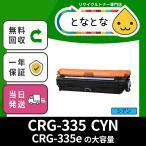 CRG-335 CYN (カートリッジ335 シアン) リサイクルトナー LBP9520C / LBP9660Ci / LBP841C / LBP842C / LBP843Ci