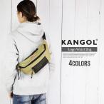 カンゴール ウエストポーチ メンズ ウエストバッグ おしゃれ KANGOL ボックス ロゴ ボディーバッグ 男女兼用 2way ショルダーポーチ 軽量 カジュアル