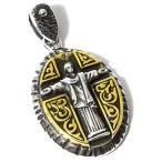 goodvibrations ブラジル リオ コルコバードのキリスト像 十字架(クロス) スターリングシルバー ペンダントトップ|グッドバイブレーション