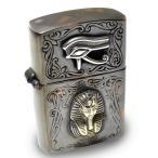 goodvibrations 古代エジプト ホルスの眼(ウジャト)&ツタンカーメン アンティーク ジッポ ライター グッドバイブレーション