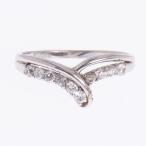スイートテンダイヤ リング プラチナ PT900 天然ダイヤモンド Vライン リング 指輪 Sweet10Diamond スイートテン スウィート10