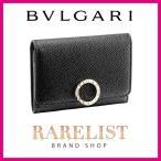 ブルガリ BVLGARI カードケース 名刺入れ パスケース 定期入れ 新作 ブラック 黒 ゴールド レザー 本革 ブルガリブルガリ