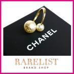 ショッピングブランド シャネル CHANEL リング 指輪  新作 ゴールド パール CC ロゴ ココマーク ホワイト ♯52