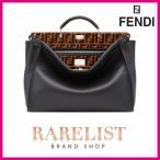 フェンディ FENDI バッグ バック ショルダーバッグ ハンドバッグ ビジネスバッグ 2WAY 新作 ブラック シルバー レザー 本革 ロゴ