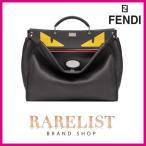 フェンディ FENDI バッグ バック ショルダーバッグ ハンドバッグ ビジネスバッグ 2WAY 新作 ブラック シルバー レザー 本革 ロゴ バッグ バグズ