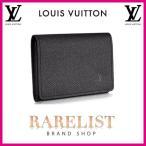 ショッピングVUITTON ルイヴィトン LOUIS VUITTON カードケース 名刺入れ パスケース アルドワーズ ブラック タイガレザー 本革 LV ロゴ