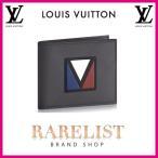 ショッピングVUITTON ルイヴィトン LOUIS VUITTON 財布 小財布 2つ折り 二つ折り 新作 アスファルトグレー Vライン コンパクト LV レザー 本革 スレンダーXS