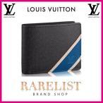 ショッピングVUITTON ルイヴィトン LOUIS VUITTON 財布 小財布 2つ折り 二つ折り 新作 アルドワーズ ブラック コンパクト タイガレザー タイガ LV ミュルティプル メンズ
