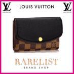 ショッピングVUITTON ルイヴィトン LOUIS VUITTON 財布 中財布 2つ折り 二つ折り 新作 ダミエ ノワール ブラウン ブラック 黒 ゴールド レザー 本革