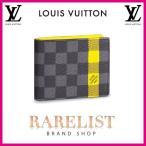 ショッピングVUITTON ルイヴィトン LOUIS VUITTON 財布 小財布 2つ折り 二つ折り 新作 限定 ダミエグラフィット ブラック グレー イエロー グラフィット プリント