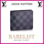 ショッピングVUITTON ルイヴィトン LOUIS VUITTON 財布 小財布 2つ折り 二つ折り 新作 ダミエグラフィット ブラック グレー コンパクト グラフィット LV スレンダー