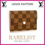 ショッピングVUITTON ルイヴィトン LOUIS VUITTON コインケース カードケース 新作 ダミエ ブラウン ピンク ゴールド ロゴ