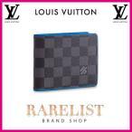 ショッピングVUITTON ルイヴィトン LOUIS VUITTON 財布 小財布 2つ折り 二つ折り 新作 限定 ダミエグラフィット ブラック グレー ブルー ダミエ ロゴ