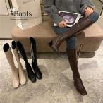 ロングブーツ ブーツ ヒール カジュアル レディース 靴 シューズ お出かけ (送料無料) ^bo-862^