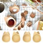 まめざら おすわり ねこ 豆皿 小皿 7cm お通し皿 木製 木 食器 カフェ ナチュラル エスニック アジアン食器 漬物皿 おしゃれ キッチン雑貨