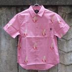 ショッピングSTUSSY ステューシー グッド フロム エニーアングル シャツ ピンク