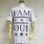 Famous Stars And Straps/フェイマス 半袖Tシャツ 3 Times (ヘザーグレー)