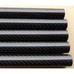 CPST0807 3Kカーボンパイプ斜め織艶有り仕上外径8mm内径7mm