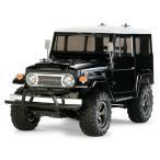 タミヤ CC-01 トヨタ ランドクルーザー40 ブラック塗装済みボディ キット+フルボールベアリング