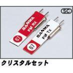 【ネコポス対応】(在庫処分)JR/FMクリスタルセット