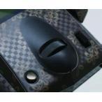 ラップアップ(WRAP-UP)/W0002-63/REAL 3D プレミアムプロポスキン M12用(カーボン調/ モノグラム)