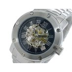 コグ COGU フルスケルトン 自動巻 メンズ 腕時計 BNSK1-BK