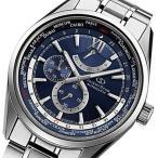 オリエントオリエントスター 自動巻き メンズ 腕時計 WZ0041JC ネイビー 国内正規