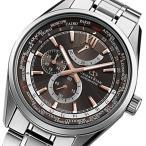 オリエントオリエントスター 自動巻き メンズ 腕時計 WZ0051JC ブラウン 国内正規