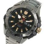 セイコー SEIKO セイコーファイブ スポーツ 60周年記念モデル 自動巻き メンズ 腕時計 SRPA31K1 ブラック