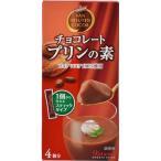 バンホーテン チョコレートプリンの素 4個分 片岡物産