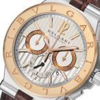ブルガリ ディアゴノ カリブロ305 クロノ 自動巻き メンズ 腕時計 DG42C6SPGLDCH