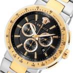 ヴェルサーチ ミスティック スポーツ クロノ クオーツ メンズ 腕時計 VFG100014 ブラック