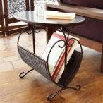 ショッピングラタン ラタン サイドテーブル 籐家具 テーブル コーヒーテーブル ナイトテーブル ソファサイド ベッドサイド 籐 アイアン 寝室 代引不可