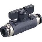 ピスコ ボールバルブ 20シリーズ ユニオン BVU20-0808 空圧・油圧機器・エアバルブ