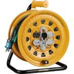 ハタヤ 温度センサー付コードリール 単相100V 20m アース・ブレーカー付 BG-201KXS