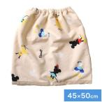 ディズニーおねしょケット 45×50cm ディズニー パイル生地 巻きタオル型 洗濯機で洗える おねしょシーツ 代引不可