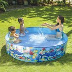 空気入れ不要 JILONG ジーロン ガーデンプール180cm ビニールプール 浮き輪 プール 家庭用 水遊び