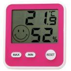 エンペックス EMPEX 温度湿度計 デジタルmidi チェリーピンク TD-8315